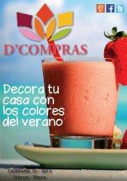 Catálogo D'Compras Febrero - Marzo 2015