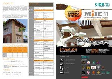 5-7 April 2011 - CIDB