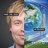 HVEM - HVA - HVOR PÅ VÅR MÅTE - Sweco