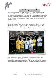 A Star Program Model JP - John Paul II Foundation for Sport