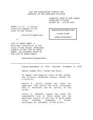 ERETC, L.L.C. v. City of Perth Amboy A-2035-04T2 - New Jersey ...