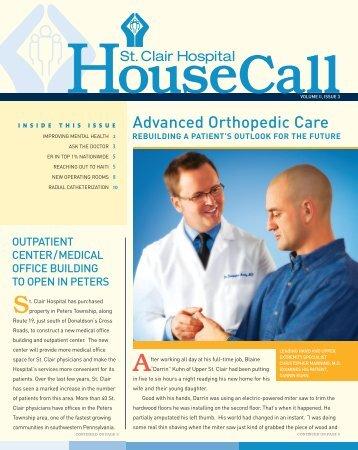Advanced Orthopedic Care - St. Clair Hospital