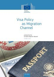 EMN Synthesis Report - Visa Policy as Migration Channel
