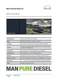MAN Lion's Coach R09-0179 Technische Daten Fahrzeugmaße ...
