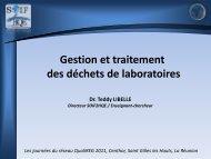 Gestion et traitement des déchets de laboratoires
