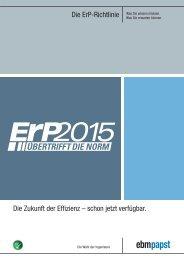 Die ErP-Richtlinie Die Zukunft der Effizienz – schon jetzt ... - ebm-papst