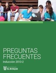 Preguntas Frecuentes - Universidad El Bosque