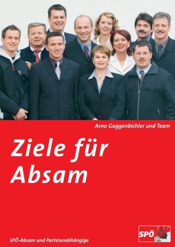 absam a3 - SPÖ Absam und Parteiunabhängige