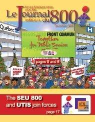 December 2009 - Union des employés et employées de service ...