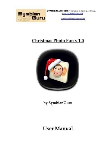 How to register Christmas Photo Fun - SymbianGuru