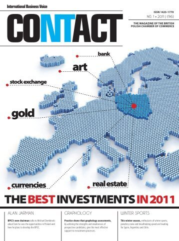 Contact Magazine 01.2011 - British Polish Chamber of Commerce