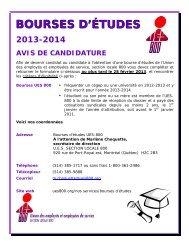 formulaire bourses 2013-2014 ues800 - Union des employés et ...