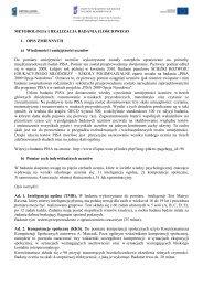 Info – sklejka poniższa - Instytut Filozofii i Socjologii PAN