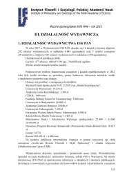 plik PDF - Instytut Filozofii i Socjologii PAN