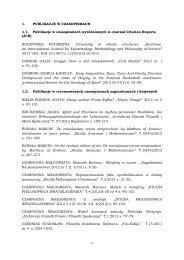 Spis publikacji 2012 [PDF] - Instytut Filozofii i Socjologii PAN