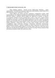 2. Opis projektu (ramy teoretyczne, cele) - Instytut Filozofii i ...
