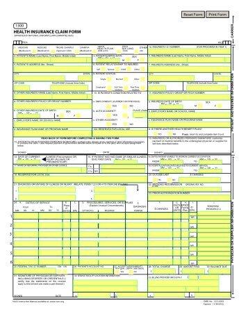 CMS-1500 Claim Form Crosswalk to ANSI 4010A1 - Palmetto GBA