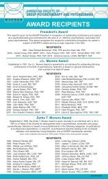 ASGPP Award Recipients - American Society of Group ...