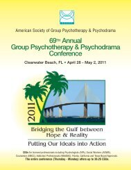 2011 Conference Brochure - American Society of Group ...
