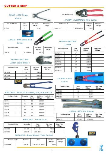 KG Products Catalogue (i)