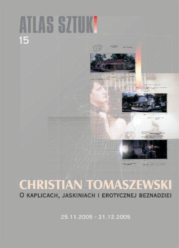 Christian Tomaszewski - katalog - Atlas Sztuki