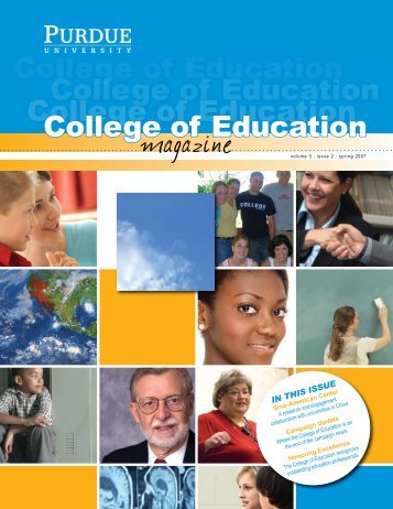 College of Education College of Education College of Education ...