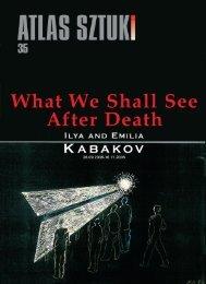 Ilya i Emilia Kabakov - katalog Art&Business 9/2008 - Atlas Sztuki