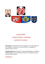 Regulamin zapisany w programie PDF - Polski Związek Karate