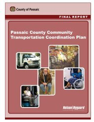 Passaic County Community Transportation Coordination Plan