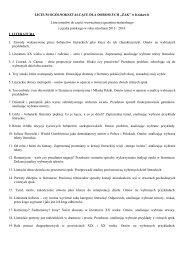 Tematy maturalne 2014 _j.polski