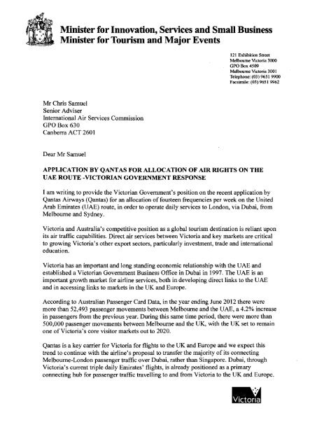 PDF: 78 KB - International Air Services Commission