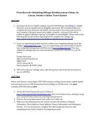 Procedures for Submitting Mileage Reimbursement Claims via ...