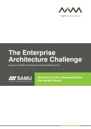 The Enterprise Architecture Challenge