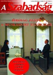 35. szám - 2007. szeptember 27. - A Szabadság