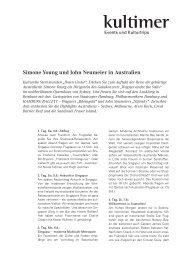 Simone Young und John Neumeier in Australien - Hamburgische ...