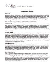 Instructor Bios - National Association of Enrolled Agents