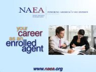 What is an Enrolled Agent? - National Association of Enrolled Agents