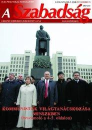 41. szám - 2007. november 15. - A Szabadság