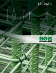 Download a brochure about using Epoxy Coated Rebar in bridges ...