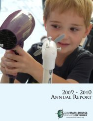 IMSEP FY2010 Annual Report - STEM
