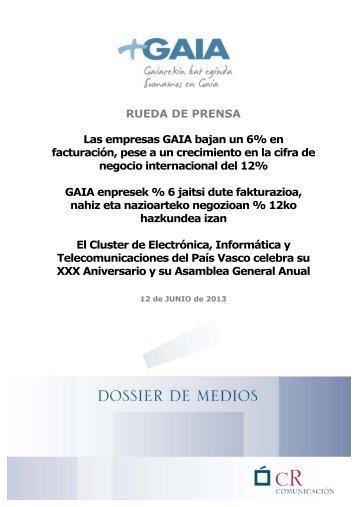 dossier de prensa - Gaia