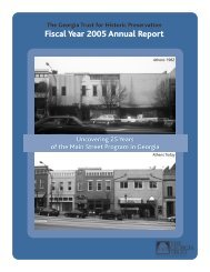 2005 Annual Report - The Georgia Trust for Historic Preservation