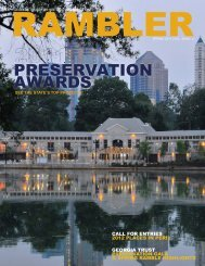 Spring 2011 - The Georgia Trust for Historic Preservation