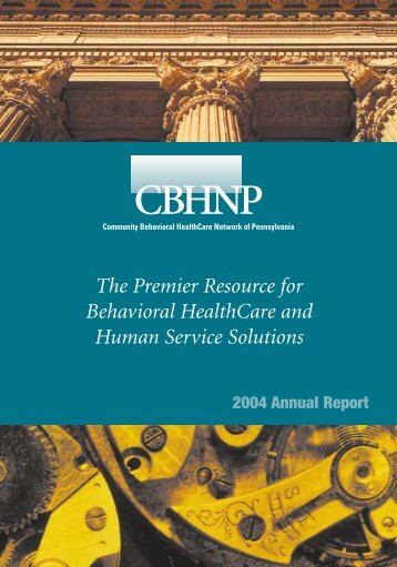 Annual Report 2004 - CBHNP