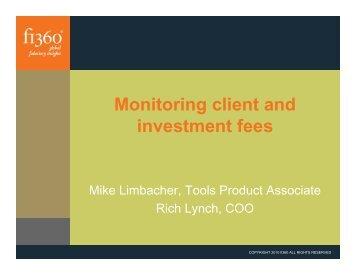 Download the presentation slides - Fi360