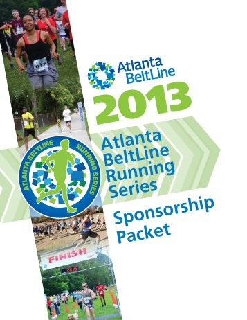 2013 Atlanta BeltLine Running Series Packet