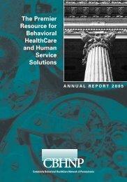 Annual Report 2005 - CBHNP