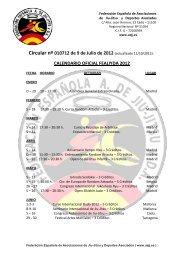 Calendario FEAJJYDA 2012 - Federación Española A. de Jiu Jitsu y ...