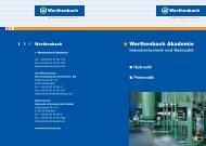 Informationen - Carl Werthenbach Konstruktionsteile GmbH & Co. KG