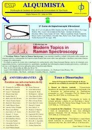 Alquimista nº 20 - Instituto de Química - USP